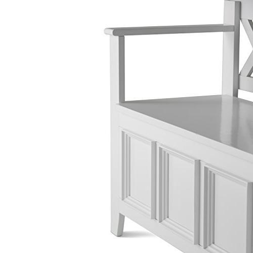 Simpli - Entryway Storage White