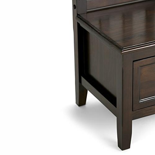 Simpli Home - Burlington Collection Storage Bench