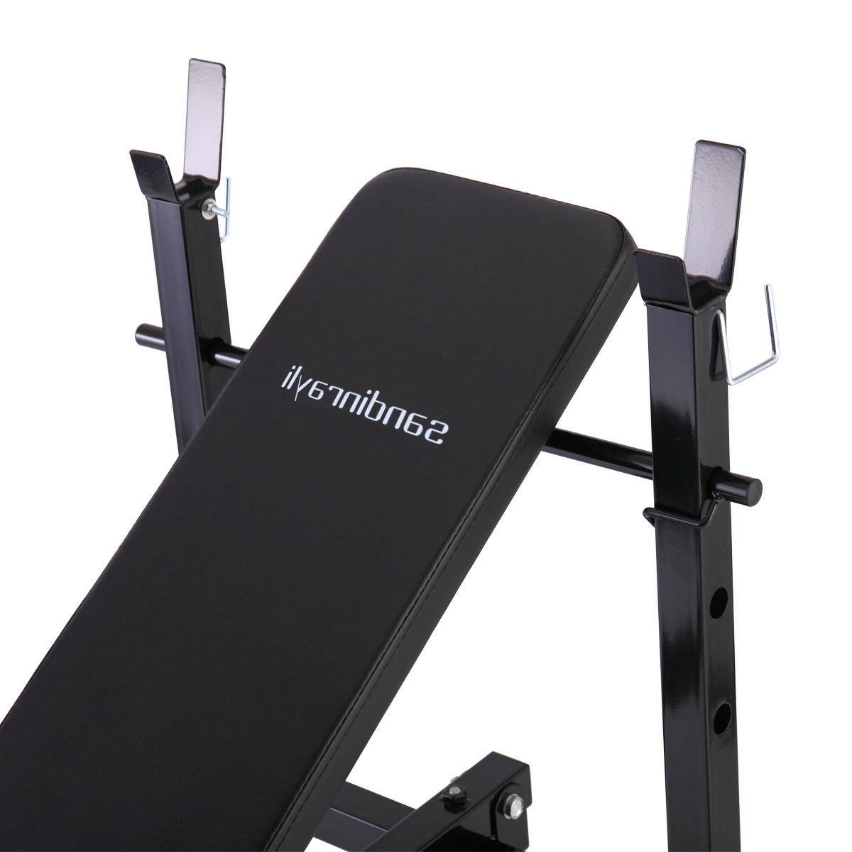 Weight Lifting w/Rack Home