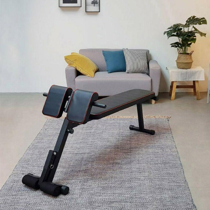 Adjustable Sit up Bench Crunch Fitness