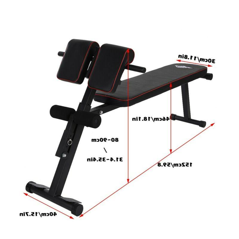 Adjustable Decline up Bench Durable Fitness