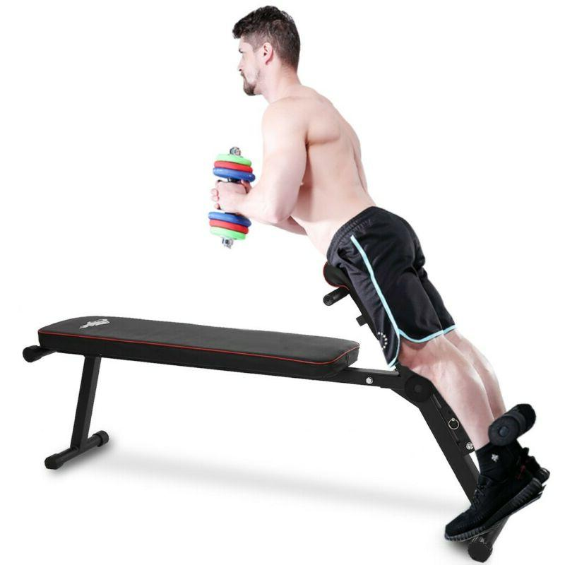 Adjustable Decline Sit up Bench Fitness