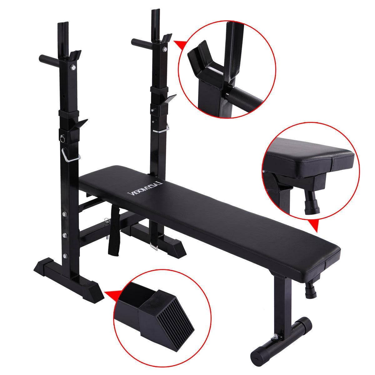 Adjustable Folding Weight Lifting Flat Incline Bench Fitness