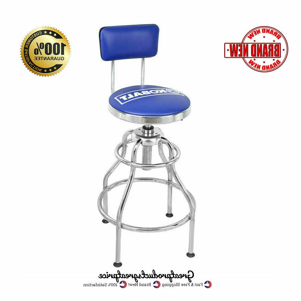 adjustable hydraulic stool mechanic seat chair work