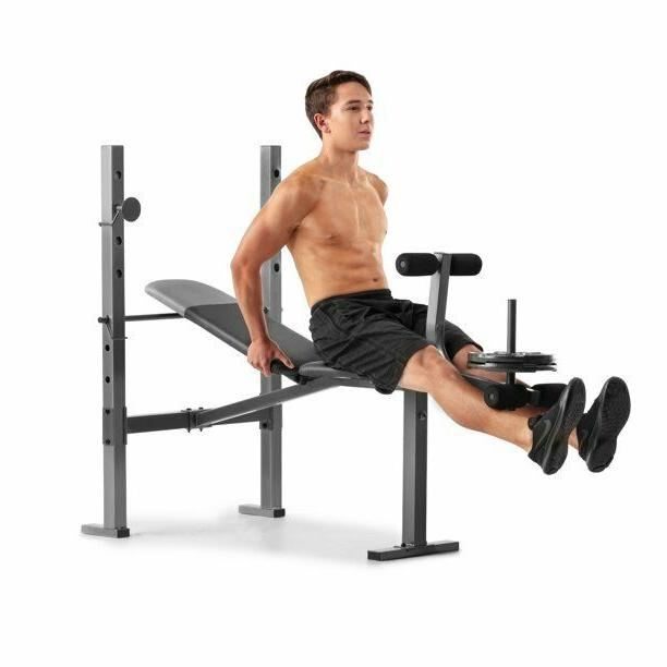ADJUSTABLE LIFTING BENCH With Rack Workout Leg Developer