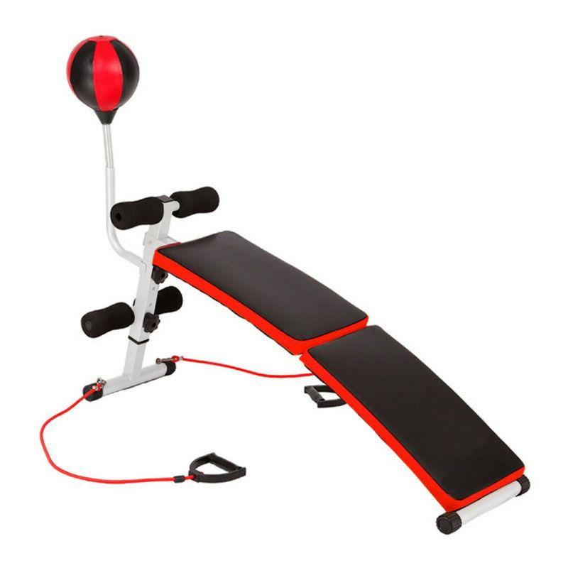 Adjustable Incline Abs Bench Fly Press Gym W/