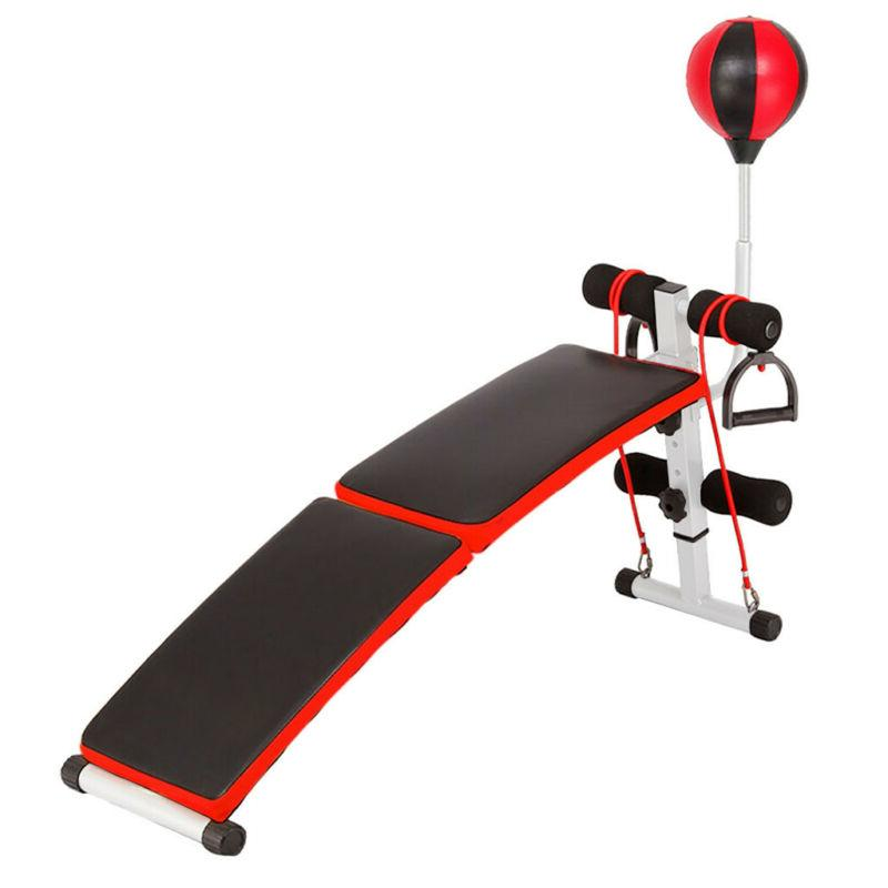 Adjustable Up AB Incline Fly W/ Fitness