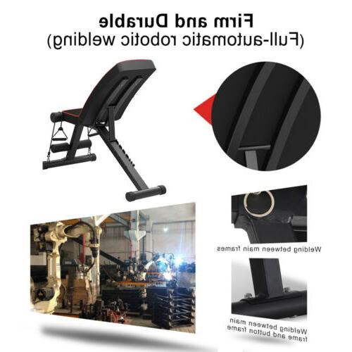 Adjustable Sit Incline Bench Fly Press