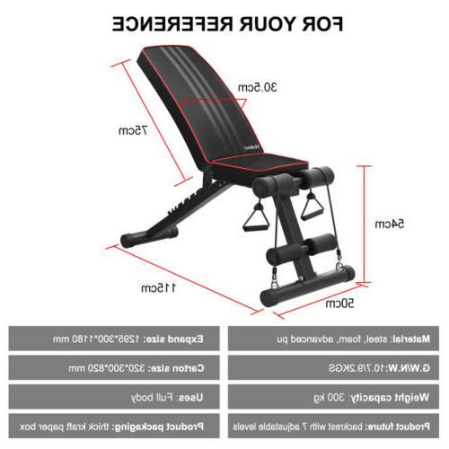 Adjustable AB Fly Press Gym W/