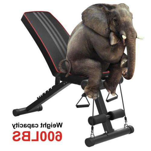 Adjustable Incline Abs Bench Fly W/ Fitness