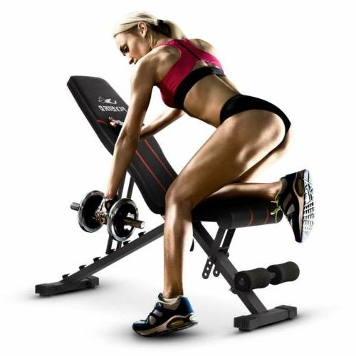 FLYBIRD Adjustable Incline Full Body Workout