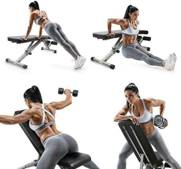 Adjustable Weight Bench Multipurpose