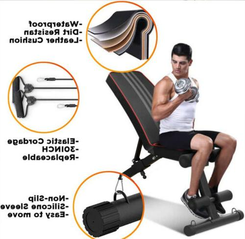 Adjustable Weight Workout Training Gym