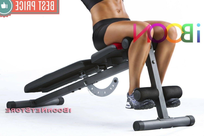 ADJUSTABLE Workout Press Flat Decline Exercise