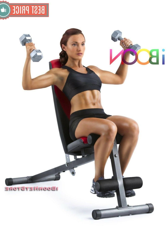 ADJUSTABLE WEIGHT Workout BENCH Decline