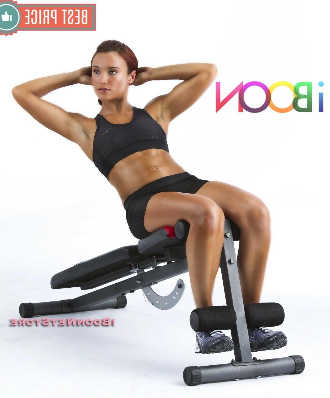 ADJUSTABLE WEIGHT Workout Press Flat Decline Exercise