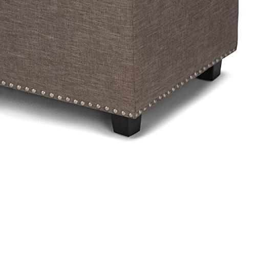 Storage Fawn Brown Linen Fabric