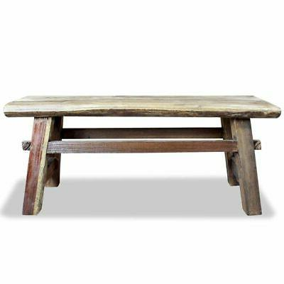 "Bench Solid Reclaimed Wood 39.4""x11""x16.9"""