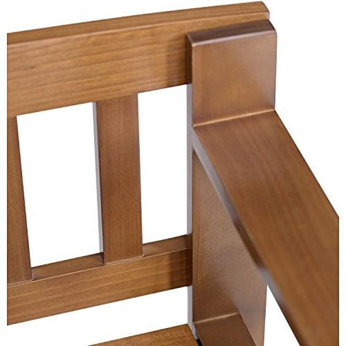 Simpli Storage Bench, Medium Brown