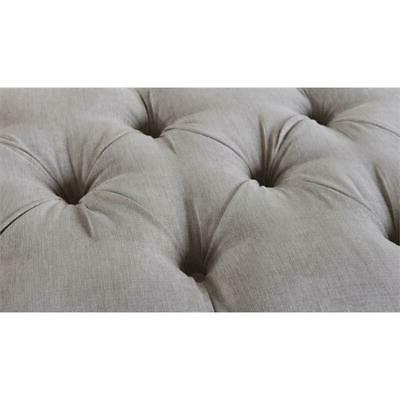 Camari Upholstered Bench Grey