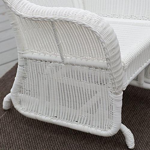 Coral Coast Casco Resin Wicker Outdoor Chair