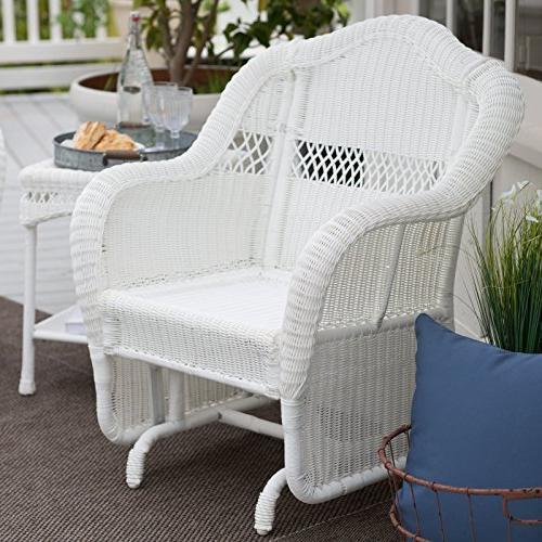 Coral Resin Outdoor Chair