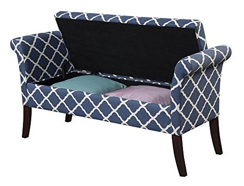 Convenience Storage Bench, Fabric