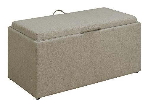 Convenience Concepts Designs4Comfort Sheridan Storage Fabric