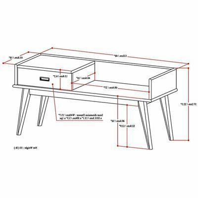 Simpli Home Draper Bench