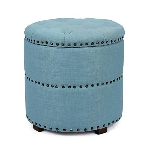 euro fabric bench ottoman chair