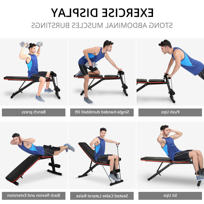 Foldable Training Gym Fitness Adjustable Workout