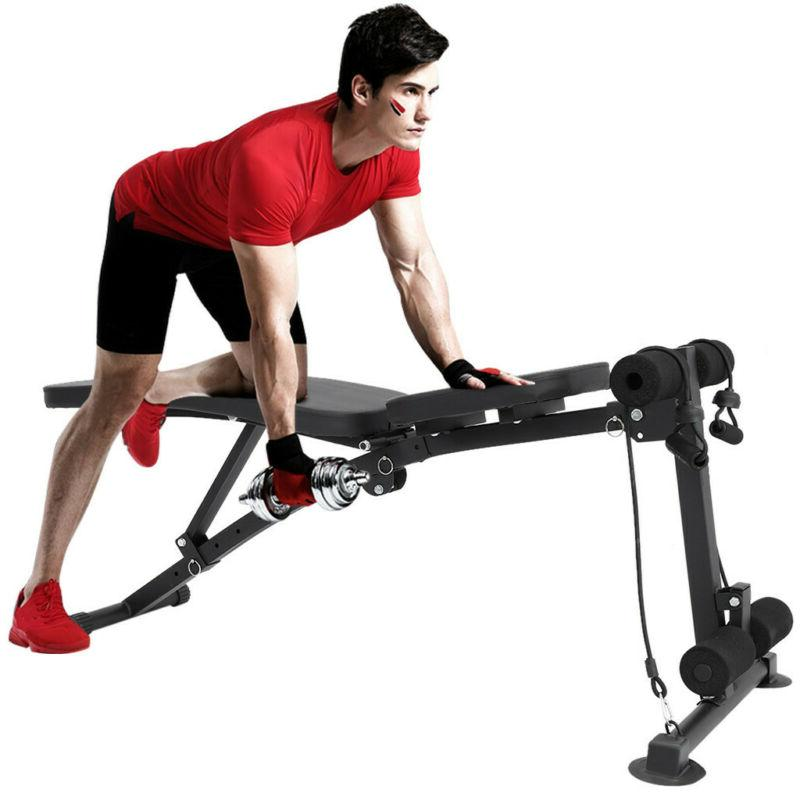 Foldable Bench Incline Workout Training