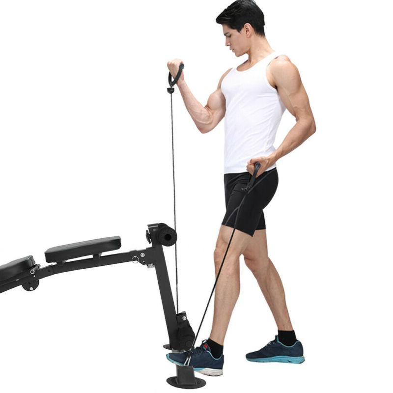 Foldable Incline Training Bench