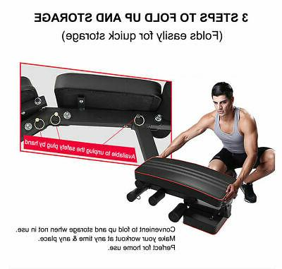Foldable Adjustable Incline Workout Fitness Training