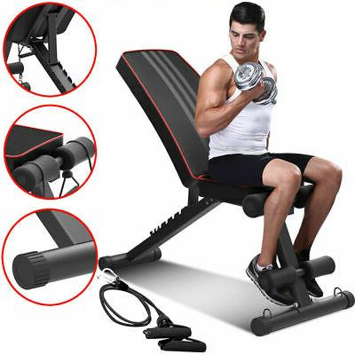 Foldable Weight Bench Incline Training Bench