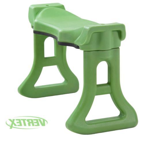 Green Finish Large Contoured Comfort Kneeler