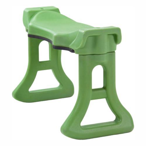 green finish extra large contoured rocker comfort
