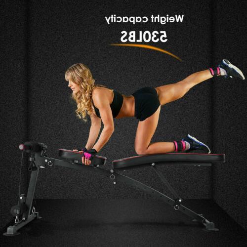 Adjustable Fitness Decline Workout