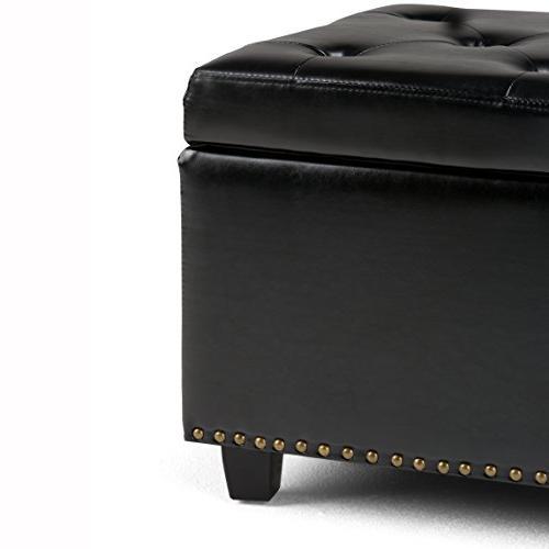 Simpli 3AXCOT-239-BL Storage Black Bonded