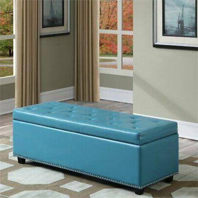 Simpli Home Bench Blue
