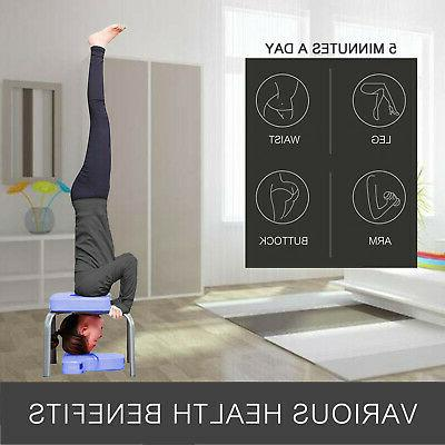 Headstand Bench Fitness Yoga Chair Table Exercise Training Bench