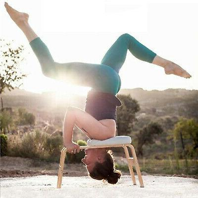 Headstand Yoga Chair Exercise Bench