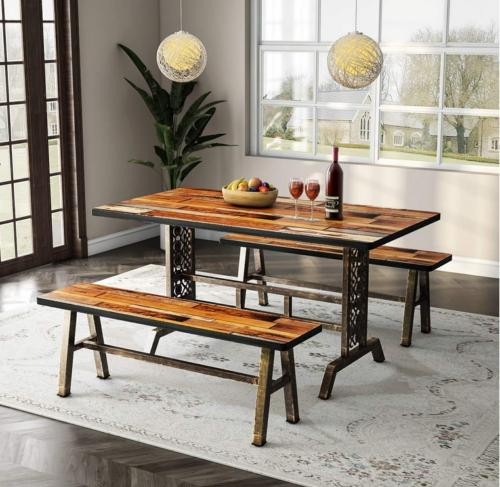 Two Pieces Dining Set Metal