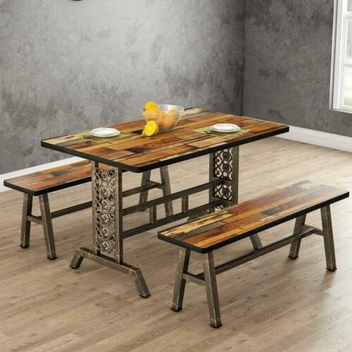 Home Two Pieces Dining Metal