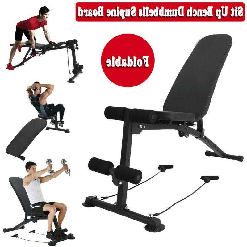 home gym adjustable bench weight sit up
