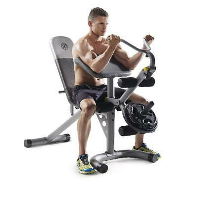 Home Exercise Machine Leg Bench Arms New