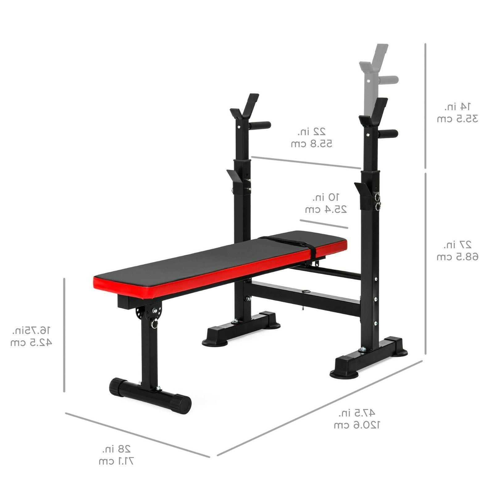 Home Gym Workout Adjustable Rack Adjustable