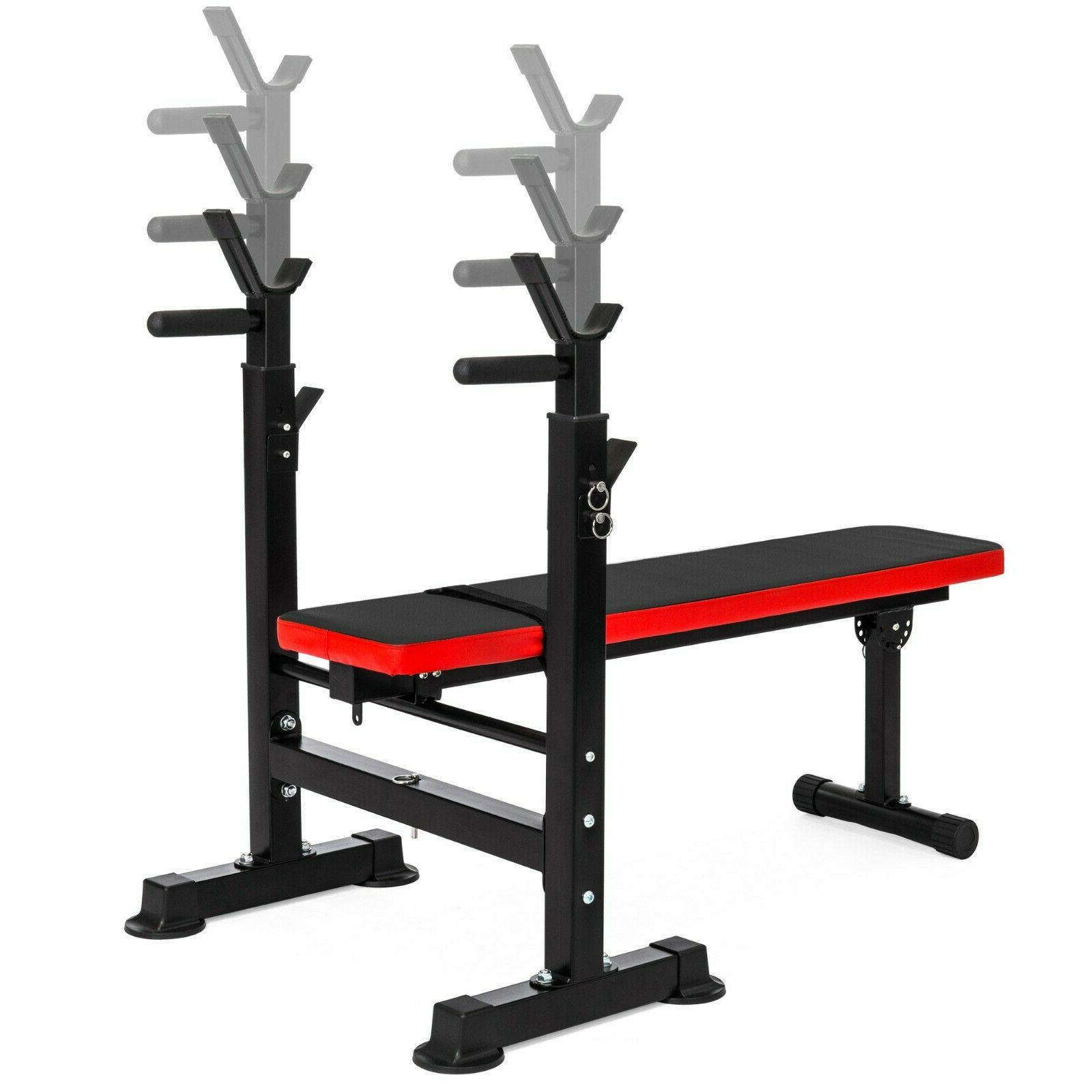 Home Adjustable Folding Weight with Rack
