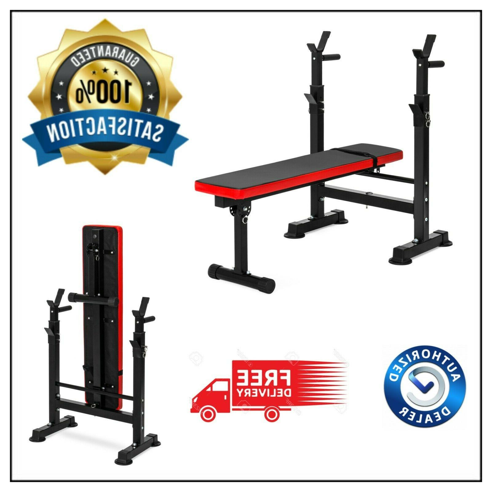 home gym workout adjustable folding weight bench