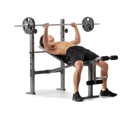 HOME GYM Weider XR 6.1 Weight W Leg Developer